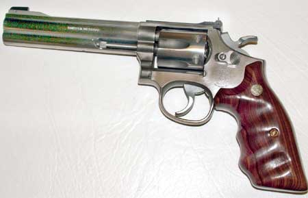 Smith & Wesson M617 (later-day K-22) 22 LR