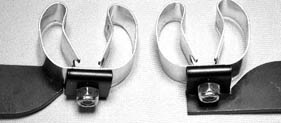 Left or Right mounting by turning over the saddle and clip direction