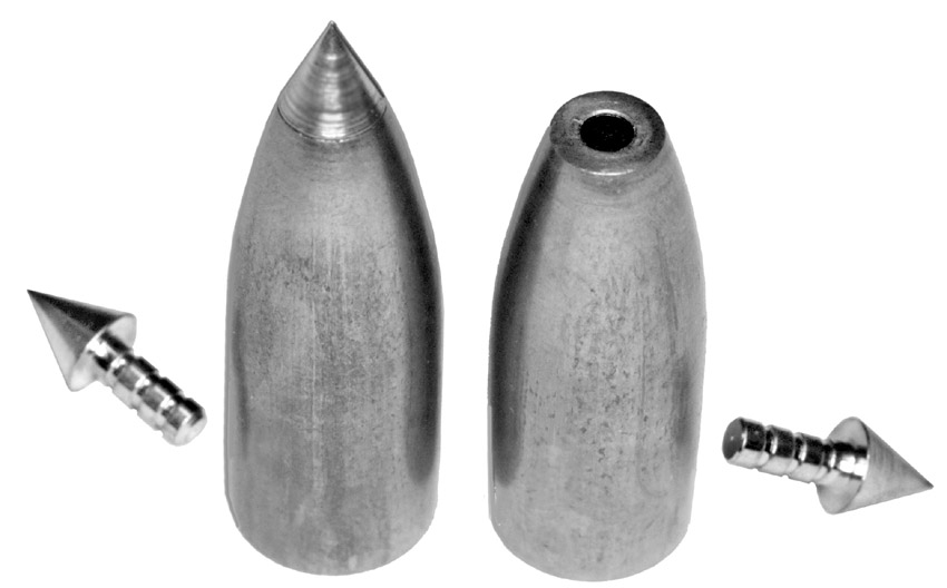 Pin-Point tip bullets